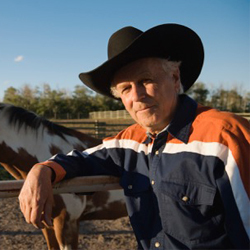 photo of a cowboy.