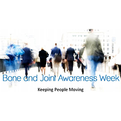 Bone and Joint Awareness Week graphic.