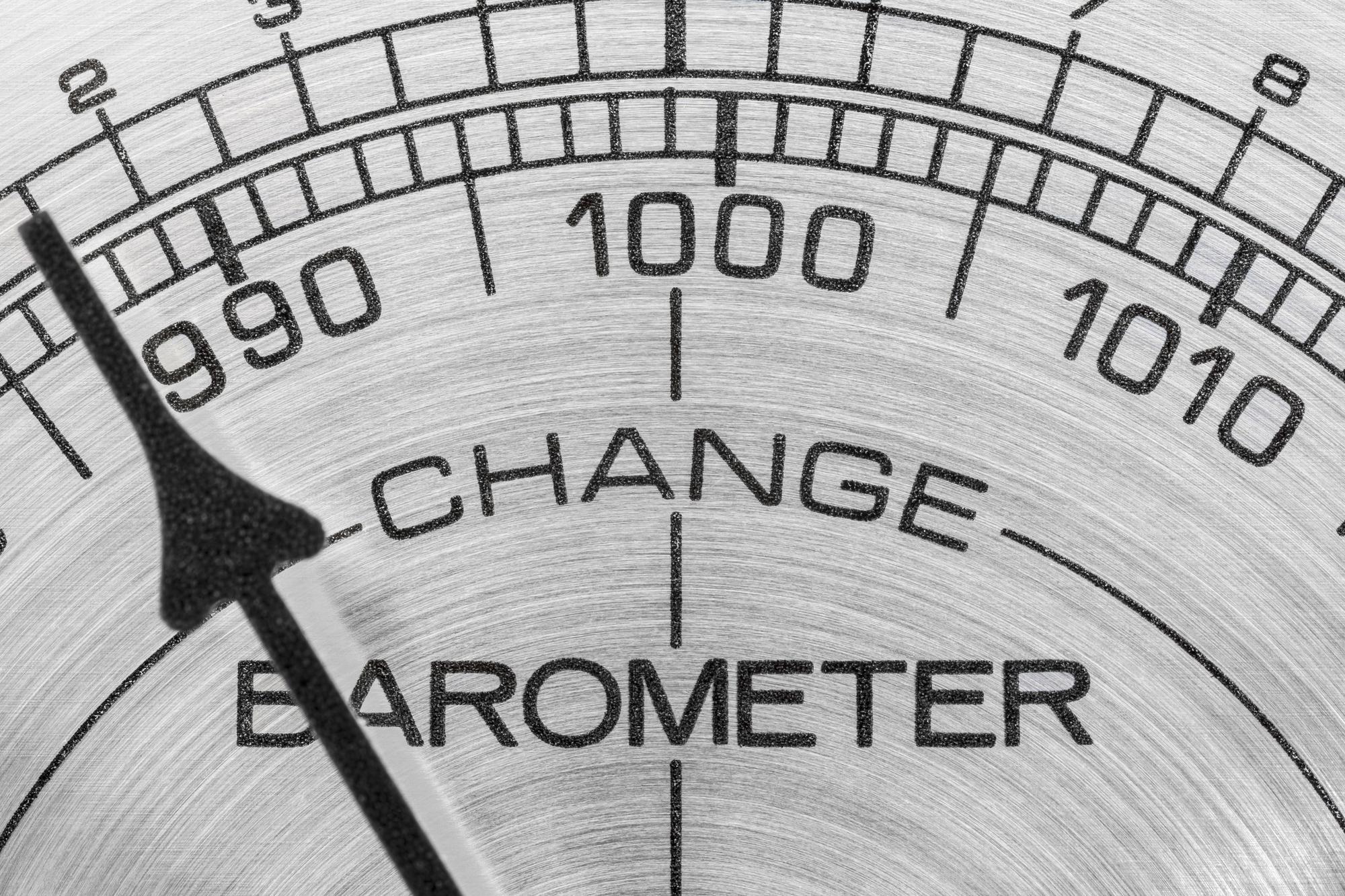 Change in the weather barometer macro detail.