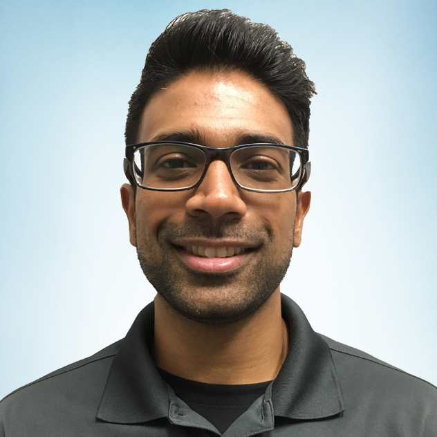 Headshot of Nishal Patel, DPT.