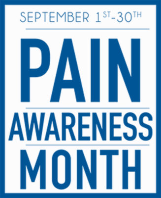 US Pain Awareness Month Logo.