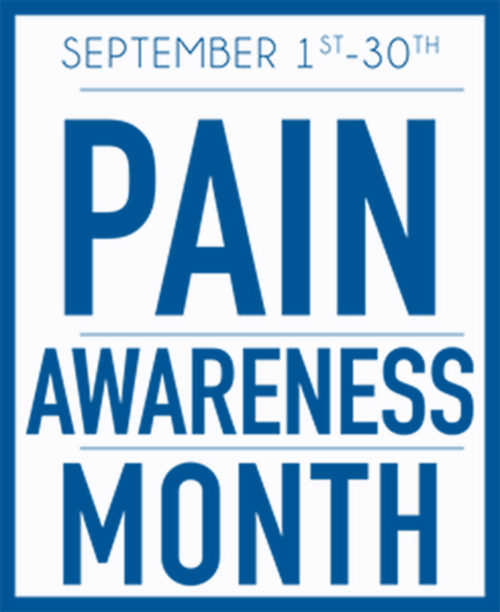 US Pain Awareness Month Logo.