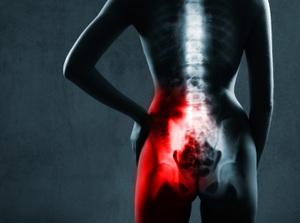 Illustration of joint pain