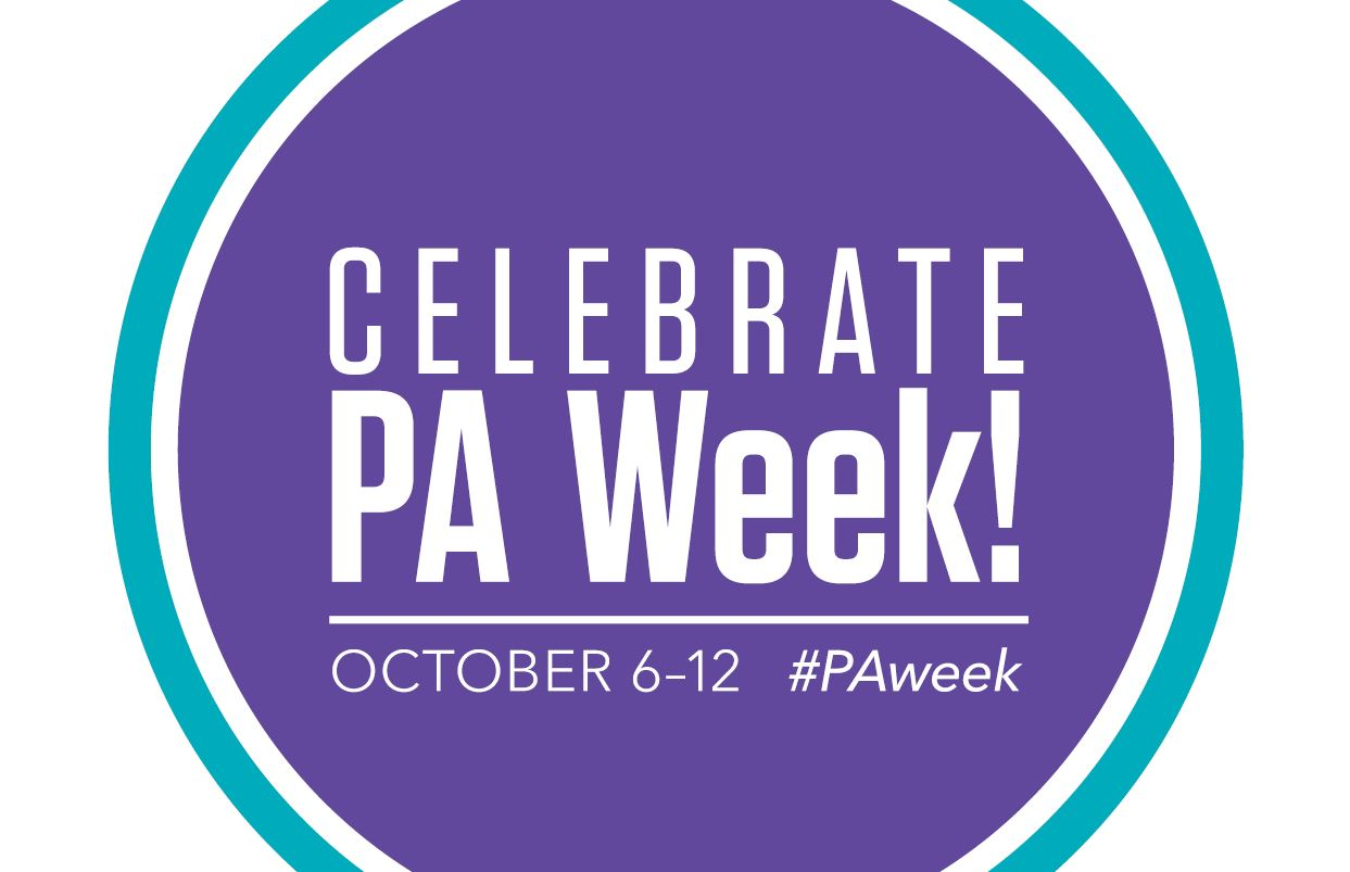 Physician Assistant Week logo.