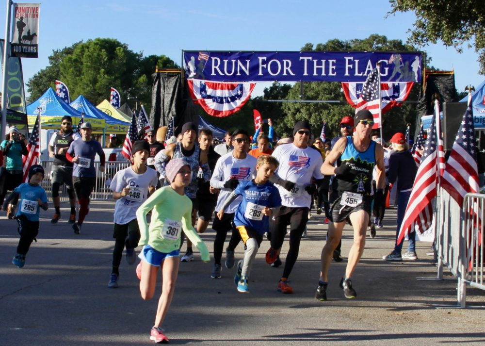 Austin Run for the Flag fundraising event for Folds of Honor.