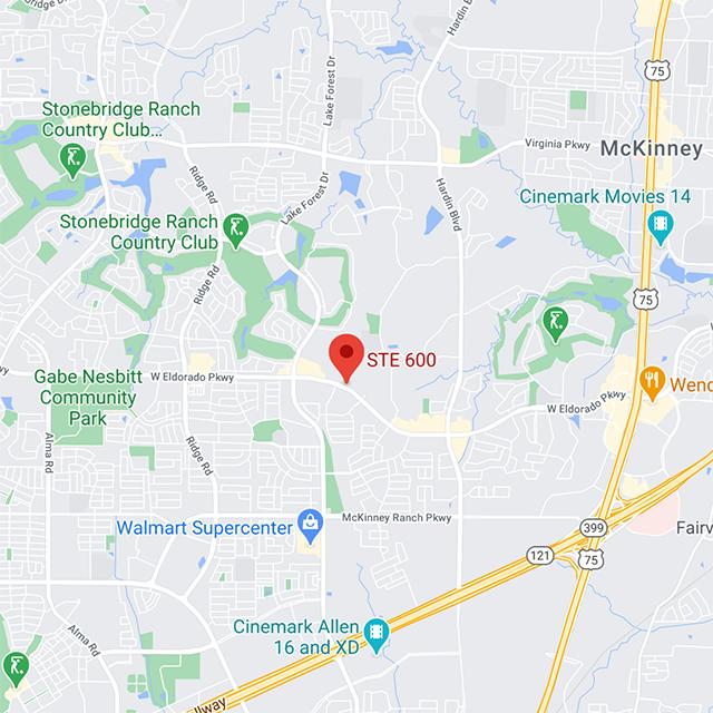 Street map of DOC mckinney.
